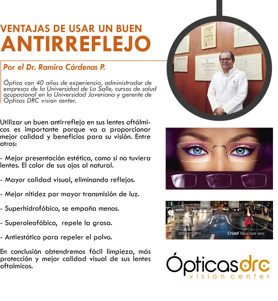 articulo dr antireflejo